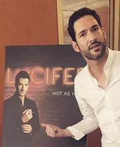 #Lucifer #Season2 #September19 Fox Tv Shows, Tom Ellis Lucifer, Funny French, Dan Stevens, Film Music Books, Best Tv, Favorite Tv Shows, Actors & Actresses, Tv Series