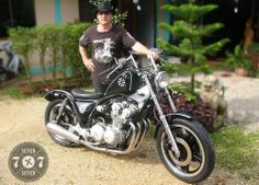 The man & the machine Kustom, Bikers, One Pic, The Man, Motorcycles, Motorcycle, Motorbikes, Crotch Rockets