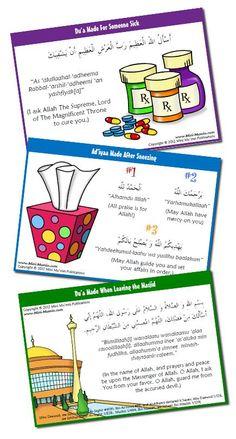 Mini Mu'min Publications- free Dua poster downloads