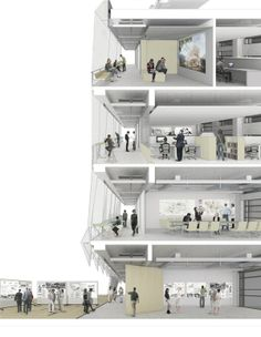 Architecture details, building section, arch building, revit, architectural Architecture Design Concept, Architecture Panel, Architecture Graphics, Sustainable Architecture, Architecture Details, Arch Building, Building Section, Wall Section Detail, Sectional Perspective