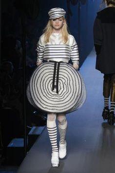 Défilé Jean Paul Gaultier automne-hiver 2015-2016, Paris - Look 8.