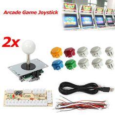 Arcade DIY Kit Pièce USB Encodeur Pr PC Chine Sanwa Manette Joystick/& 20