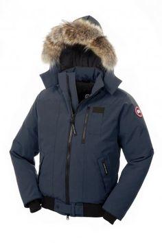 Canada Goose Men Outlet - Cheap Canada Goose Mens Borden Bomber Jacket Gray Jacket on Sale