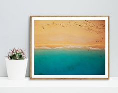 Beach print Beach art Summer Nature Modern art от WallArt2Decor