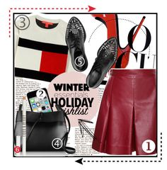 """""""The Chic"""" by floralrhythm ❤ liked on Polyvore featuring Tommy Hilfiger, Proenza Schouler, Apple, Kara, Alexander McQueen, Lord & Berry, contestentry, Minimaliststyle, winterstyle and 2015wishlist"""