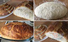 Hrnkový recept na domácí chléb, který je měkoučký jako pavučinka. Někdy jsem četla o kváskovaní, velmi mě to fascinovalo, no přišlo mi to zdlouhavé a náročné a tak jsem zůstala věrná droždí. Věřím však, že jednou se ke kváskování dostanu a vyzkouším to. Zatím chlebíček bez práce a s droždím. Autor: Mineralka Bread Recipes, Cooking Recipes, No Knead Bread, Banana Bread, French Toast, Food And Drink, Yummy Food, Homemade, Meals
