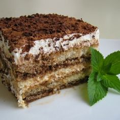 I am on the quest to find the best Tiramisu recipe. On our trip to Italy, we had tiramisu several times. The kids fell in love with the dessert! (And they don't like coffee). Tiramisu is a… Just Desserts, Delicious Desserts, Dessert Recipes, Yummy Food, Holiday Desserts, Cake Recipes, Dessert Healthy, Fruit Dessert, Food Cakes