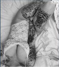 Perfect leg tatts!!!  ❤