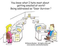 Cartoon #7 http://www.booher.com/booherbanter #cartoon #business #communication