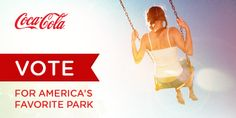 I just voted for veterans memorial park! Help your favorite park win a $100,000 grant. Vote at http://www.coke.com/parks