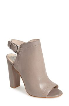 Vince Camuto 'Vamelia' Open Toe Leather Bootie (Women) available at #Nordstrom
