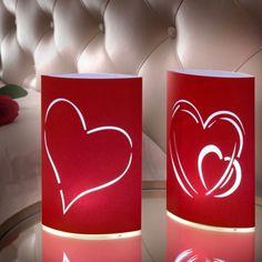 Farolillos de Papel LED Corazón (pack de 2) - 177