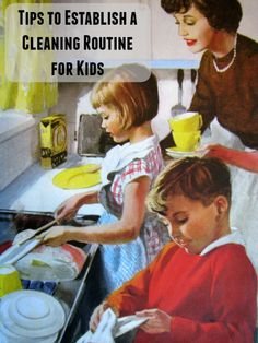 Tips to establish a cleaning routine for kids