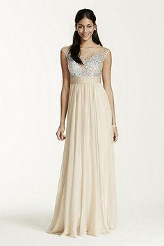 champs beaded bodace Flowy Prom Dresses 2950fee53