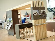 booth concept  design for FIABCI © eLfy, 2014: