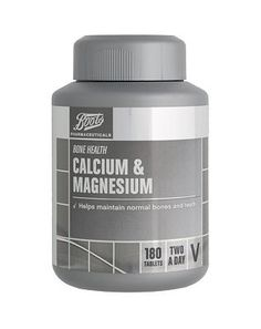 #Boots Pharmaceuticals Boots Calcium  Magnesium (180 Tablets) 10114378 #32 Advantage card points. FREE Delivery on orders over 45 GBP. (Barcode EAN=5045094931026)