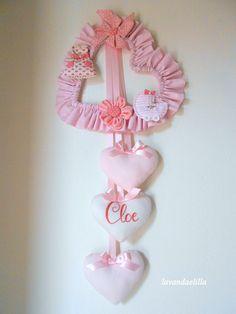 Buona serata!     Un fiocco per annunciare la nascita della piccola Cloe     La mamma ha avuto l'idea, io l'ho solo realizzata.      ...