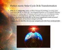 Tchijevsky 11 year solar cycle - Google Search