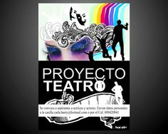 Diseño de Afiche Proyecto Teatro (Omar Pérez)