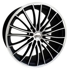 19 ZCW SNOOP MATT BLACK POL LIP AND FACE alloy wheels for 5 studs wheel fitment in 8.5x19 rim size