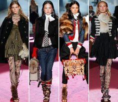 Dsquared2 Fall/Winter 2015-2016 Collection - Milan Fashion Week  #fashion #fashionweek #readytowear