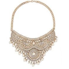 bebe Scrolled Bib Necklace (375 HRK) ❤ liked on Polyvore featuring jewelry, necklaces, accessories, bib necklace, bebe and bebe jewelry