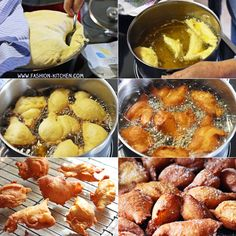 Grandma's fire sparrows - crispy lard pastries for Mardi Gras fashion kitchen Old Recipes, Water Recipes, Cooking Recipes, Beignets, Carnival Food, Carnival Fashion, Muffins, Kitchen Recipes, Food Blogs