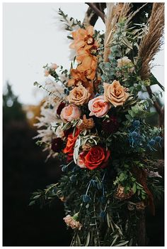 A Vermont Destination Wedding at the Peak of Fall Foliage - Love Inc. Fall Wedding Arches, Wedding Arch Flowers, Floral Wedding, Wedding Bouquets, Vintage Wedding Flowers, Church Wedding, Wedding Ceremony, Wedding Venues, Fall Flower Arrangements