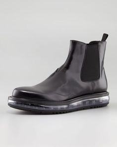 Prada Levitate Chelsea Boot.