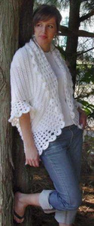 beautiful crocheted jacket