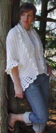 beautiful crocheted jacket
