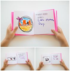 KID-MADE FREE PRINTABLE MOTHER'S DAY BOOK