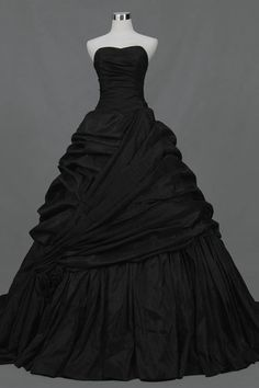 Google Image Result for http://tesbuy.com/Public/Uploads/Products/20120213/A%2520Line%2520Strapless%2520Taffeta%2520Strapless%2520Beautiful%2520Princess%2520Black%2520Wedding%2520Dresses%25202012.jpg