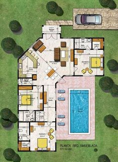 Home Discover Floor Plan Friday: 4 bedroom home with study nook and tripl Sims House Plans Beach House Plans Modern House Plans New House Plans Dream House Plans Small House Plans Modern House Design House Floor Plans Open Plan House Sims House Plans, House Layout Plans, Beach House Plans, New House Plans, Dream House Plans, Modern House Plans, Small House Plans, Modern House Design, House Floor Plans
