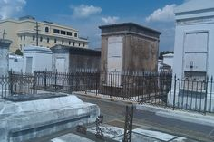 New Orleans, LA. This cemetery was so interesting and so different compared to what we have in Ironton.