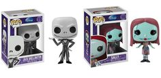 Funko Pop! The Nightmare Before Christmas, Jack and Sally