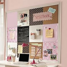 Bulletin Board #frilly #pink