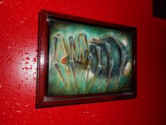 "Brian Smith oil on canvas panel ""Spider""  5x7 2010    Check out his site :  http://briansmithart.blogspot.com/"