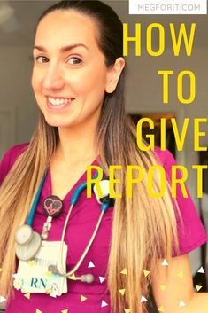 Nurses giving report to nurses. Let me show you how to do it effectively and the perfect template report sheet! Nursing School Notes, Online Nursing Schools, Medical School, Accelerated Nursing Programs, New Nurse, Baby Nurse, Nurse Bag, Nursing Tips, Ob Nursing