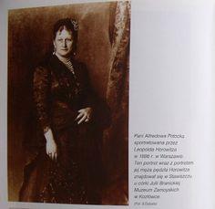 Maria z ks. Sanguszków hrabina Alfredowa Potocka-portret Leopolda Horowitza.