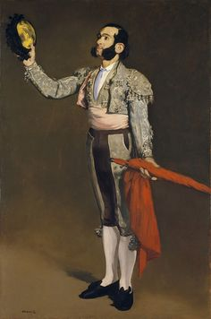 Édouard Manet - A Matador [1866-67]