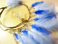 Horse Dancer's Handmade Crystal Maraposa Dream Catcher by jungleeyejoe on Etsy