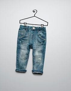 jeans with studs - Jeans - Baby boy (3-36 months) - Kids - ZARA United States