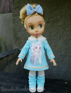 Disney Animator Dolls Clothes. Doll clothes for Disney Animator 16'