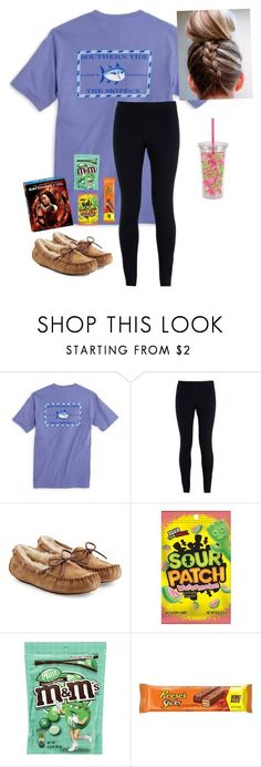 Watching the Hunger Games rn by a-devo ❤ liked on Polyvore featuring NIKE, UGG Australia, Candies and Lilly Pulitzer