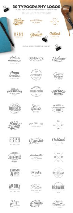 Logo Creation Kit Bundle Edition by Zeppelin Graphics on @creativemarket
