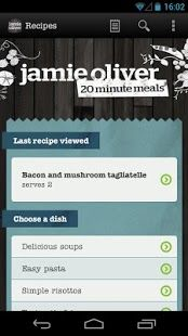 Not only are the recipes by Jamie Oliver featured here easy to make, but this app also shows that skeuomorphism still has a place in mobile UI design.