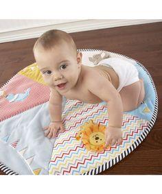 Baby Aspen Big Top Tummy Time Circus Playmat | zulily