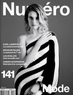 Natalia Vodianova numero march 2013 covers