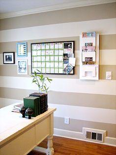Tan/White Stripes (Ten June's Office)